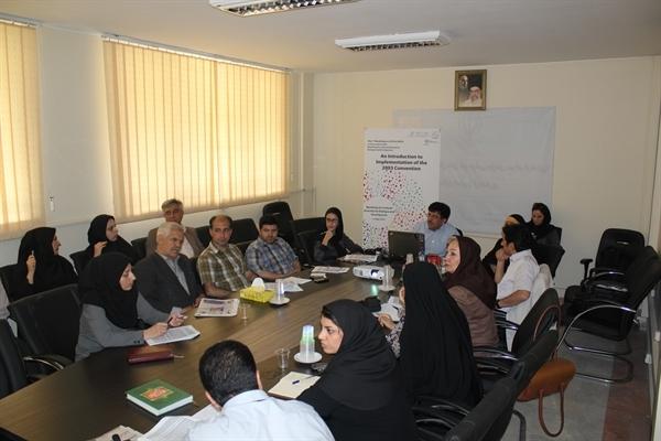 کارگاه آموزشی میراث فرهنگی ناملموس برای تشکلهای مردم نهاد، به مناسبت روز جهانی تنوع فرهنگی برای گفتگو و توسعه، تهران، ۳ و ۴ خرداد ماه ۱۳۹۴