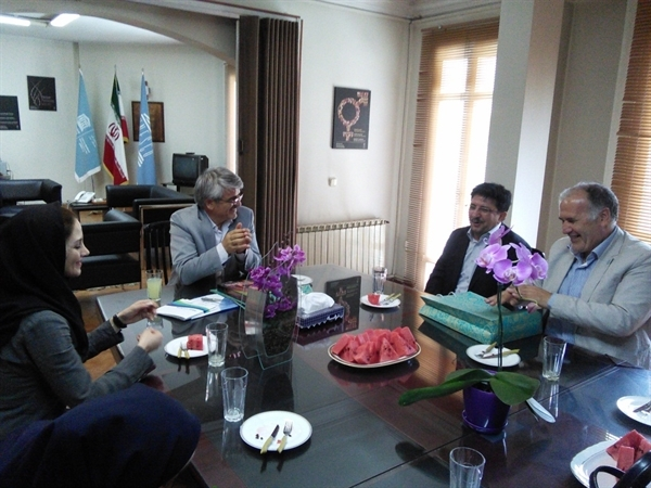 نخستین ملاقات رئیس و کارکنان میراث ناملموس تهران با سرپرست جدید کمیسیون ملی یونسکوی ایران