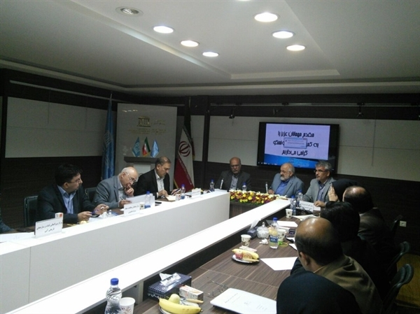 دیدار نمایندهی دائم یونسکو با مدیران مراکز مقوله ۲